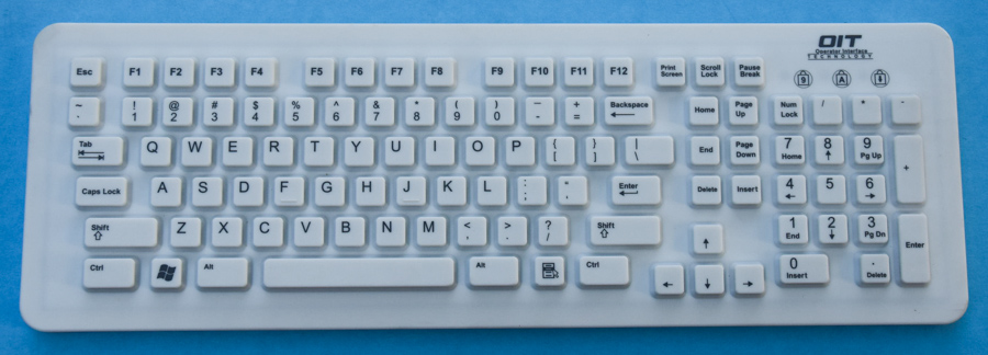 Silicone Rubber Keyboards & Keypads