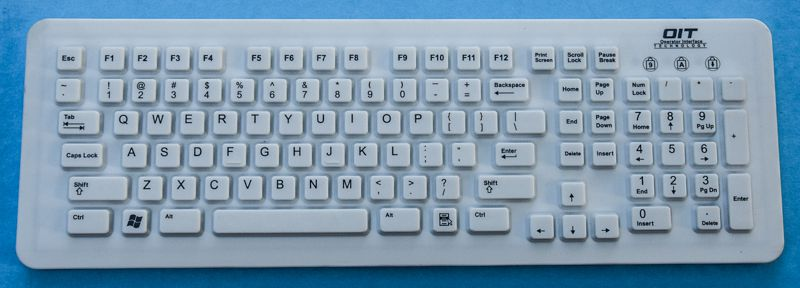 Medical Grade Sealed Keyboard