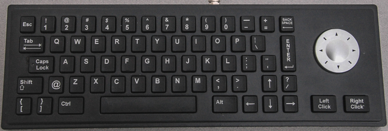 Rugged Lite Touchpad Keyboard